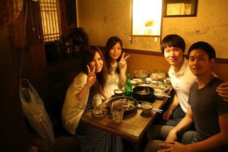 2013年9月、1週間のホームステイ、韓国人ホストとの交流