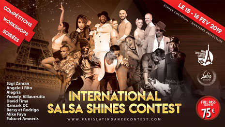international salsa shines contest 2019