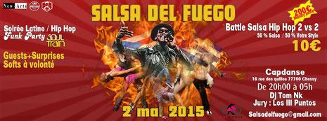 soirée capdanse mai 2015 salsa con HipHop