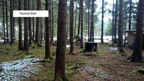 Die Wildfütterung ist eine der wichtigsten Aufgaben von Jagdaufsehern.