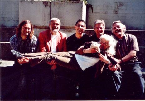 """Die Bandmitglieder von """"SojaB"""" kurz nach der """"Gründung"""" im Jahr 2008"""
