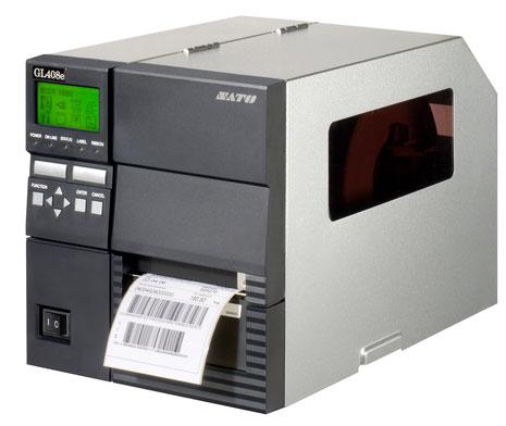 Großer SATO-Thermodrucker für Industrieanwendungen