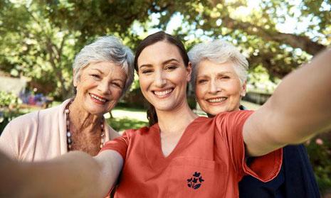 services d'aide à domicile, services personne âgée,