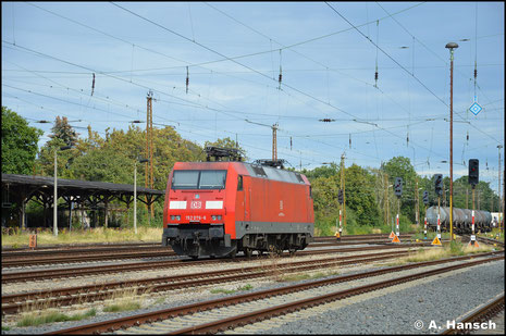152 076-6 war am 2. September 2020 Lz nach Leipzig-Wiederitzsch gekommen und wurde schließlich dort abgestellt