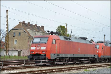 152 147-5 ist am 05. Mai 2021 in Leipzig-Wiederitzsch abgestellt