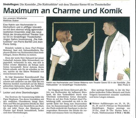 Sindelfinger Zeitung