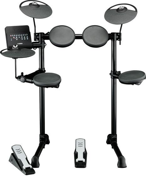 DTX400K - kompaktes komplettes E-Drum Set mit zehn Drum-Kits sowie zehn Trainings Funktionen mit neues Drum Trigger Modul mit 169 hochwertigen Sounds