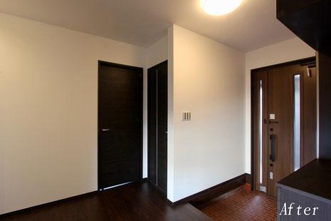 玄関・廊下(改修工事後)