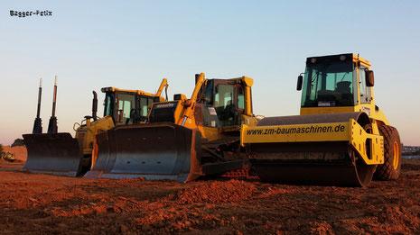 Dx 51 und Dx 65 sowie Bomag BW 211