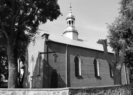 Kościół parafialny w Żmijewie Kościelnym [Fotografia dzięki uprzejmości p. Grzegorza z Białegostoku]