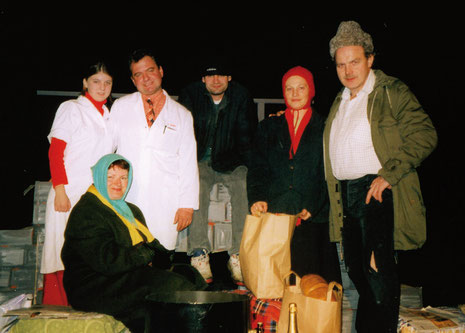 Schauspieler Weihnachtsfeier 2000