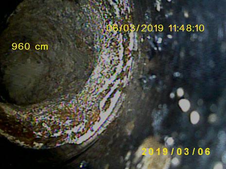 Kanal & Abfluss : Aufnahme mit der Kanal- Inspektionskamera, Sichtung zur Feststellung von Problemstellen.