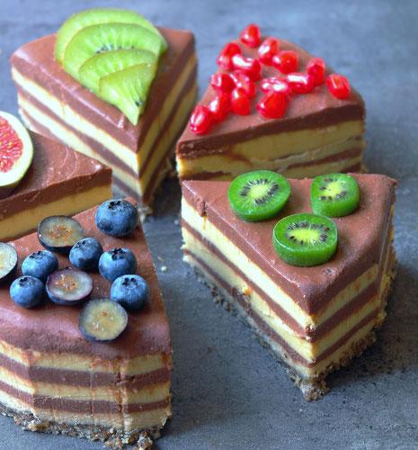 No bake cake with chocolate