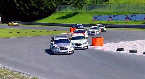Rennfahrer aus Bad Salzuflen Dennis Bröker Chevrolet Cruze Eurocup 2020 Action Salzburgring Österreich