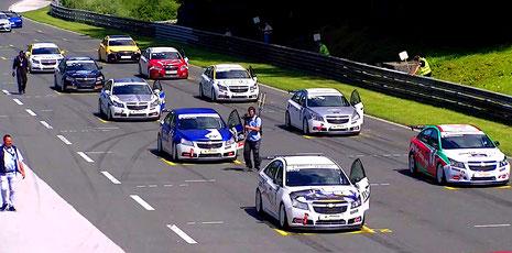 Rennfahrer aus Bad Salzuflen Dennis Bröker Chevrolet Cruze Eurocup 2020 Salzburgring Festival Österreich