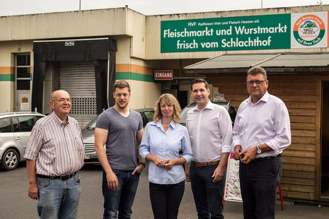 v.l.: Hartmut Ziehn, Jan Saal, Silvia Schoenemann, Andreas Rey und Thomas Schaffert.