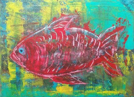 Der rote Fisch