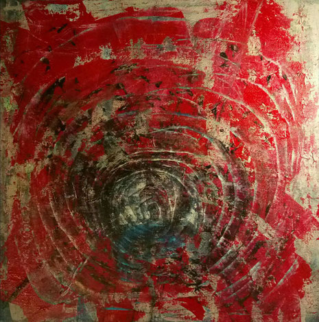 Ein Tunnel. Ein unterirdischer Gang. Der Geburtskanal. Teil eines Verdrauungstraktes. Kanalisation der Seele. Im Untergrund. Im Innern. Bei uns.