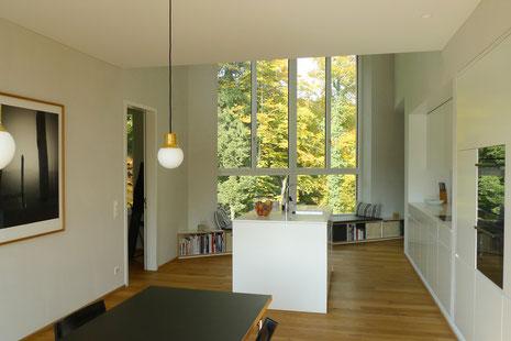 Neubau EFH Klushau, Schaffhausen I Essen mit Küche