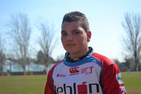 Rober, nuestro jugador más joven
