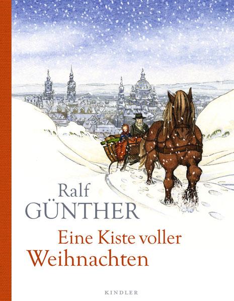 """""""Eine Kiste voller Weihnachten"""" von Ralf Günther, Kindler Verlag, Hardcover, 18,00 €"""