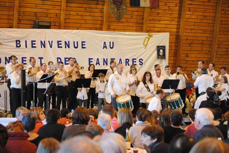 Concert des fanfares à Tence (2 Mars 2014)