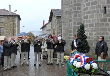 Commémoration du Centenaire de la Grande Guerre à Beaux ( Dimanche 9 novembre 2014)