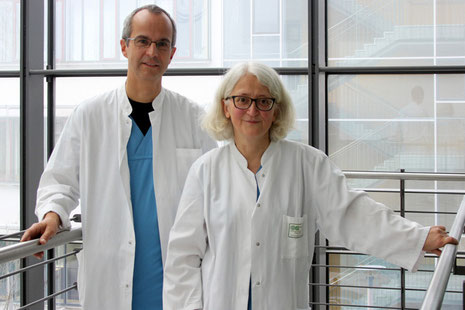 """Die Anfänge der ambulanten Kinderpalliativbetreuung in Halle waren 2006. Dr. Toralf Bernig und Annette Hentschel arbeiten seit vielen Jahren engagiert im """"Team Clara""""."""