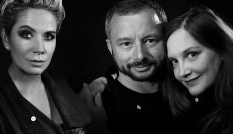 Claudia Effenberg, Roman Leitner-Shamov & Lucy van Org
