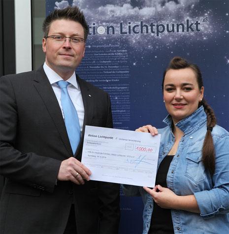 """""""Spenden statt Schenken"""" UniVersa Versicherungen 2014"""