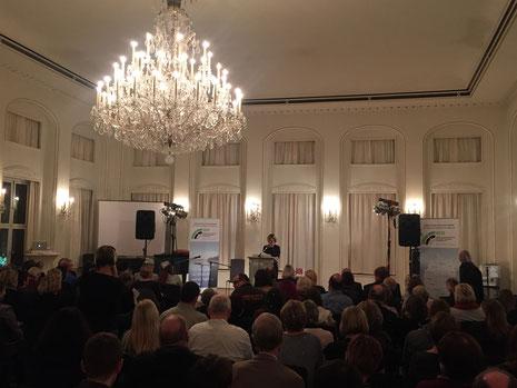 Daniela Schadt, First Lady und Schirmherrin des Benefizkonzert der Aktion Lichtpunkt.