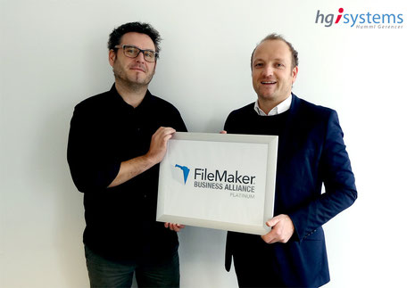 hgi systems ist FileMaker Business Alliance Platinum Partner