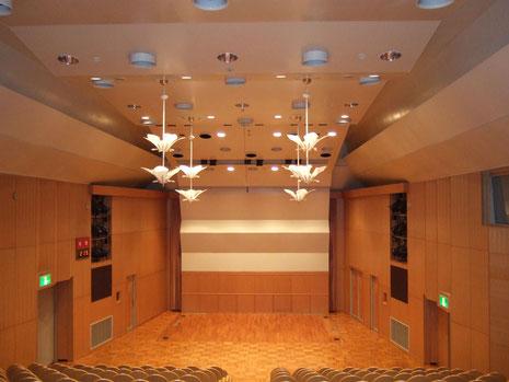 掛川市亀の甲 美感ホール 多目的ホール現況