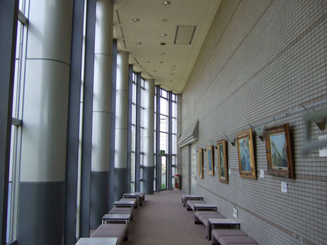 掛川市亀の甲 美感ホール ロビー現況