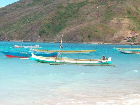 in Kuta auf Lombok