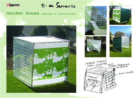 Texinov garden house intelligente