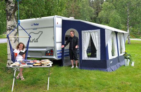 schwedische wohnwagen