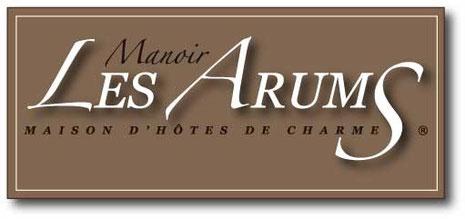 Logo Manoir les Arums Maison d'hôtes