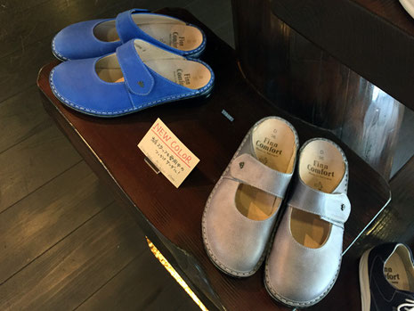 FinnComfort STANFORD 色:ブルー/ストーン 25000+税