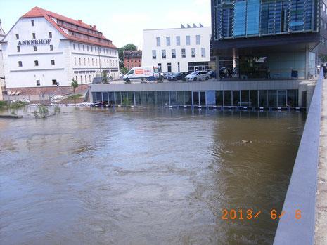 MMC unter Wasser