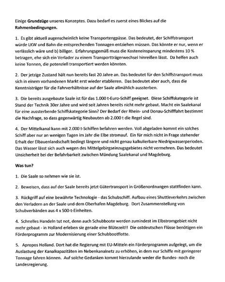 Quelle: E-Mail Dr. Uwe Köck  an Dr. W Kelling
