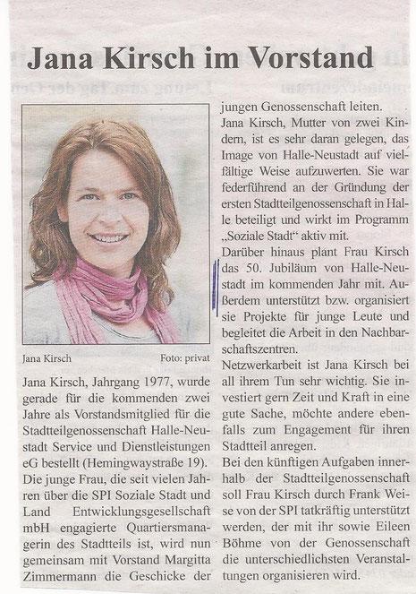 Aus Neustädter Nachrichten, August 2013