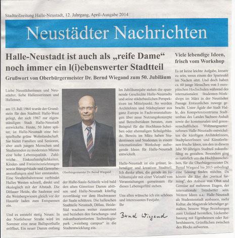 Quelle: Neustädter Nachrichten, April-Ausgabe 2014