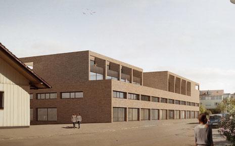 Neubau Regatron, Rorschach