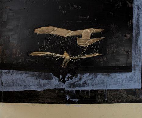 Pionier, Öl auf Leinwand 2016, 150 x 180 cm