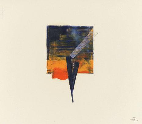 Ohne Titel, Malerei 2000