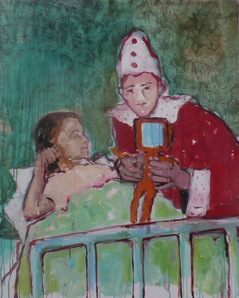 Consolation, Acryl auf Leinwand 2015/16, 110 x 90 cm