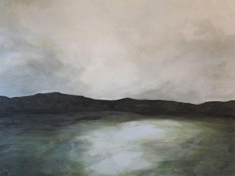 Ohne Titel, Eitempera auf Leinwand 2012, 110 x 145 cm