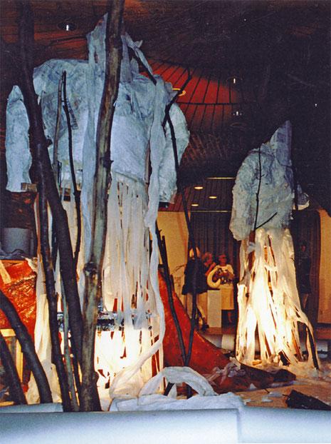 Traum des Odysseus, Installation Neusser Mühle 2001