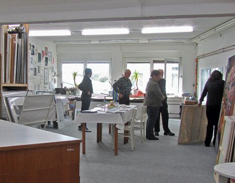Atelier Irmgard Esch/Helmut Kesberg (Foto: Oeter)